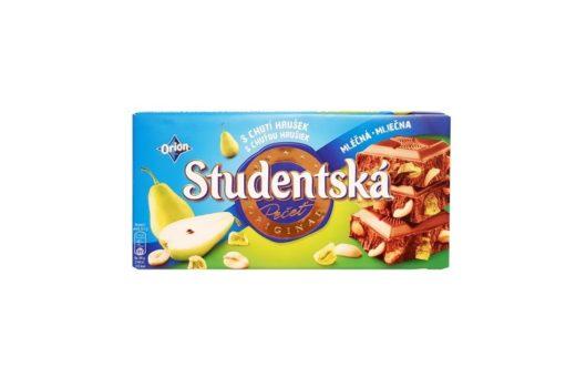 Nestle, Orion Studentska mleczna czekolada z gruszką, galaretkami i orzechami arachidowymi, copyright Olga Kublik