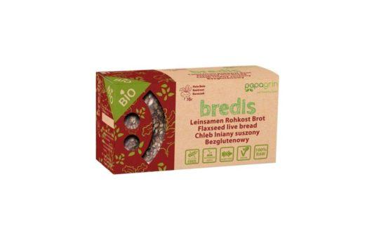 Papagrin, Chleb ekologiczny bezglutenowy Bredis z burakiem, copyright Olga Kublik