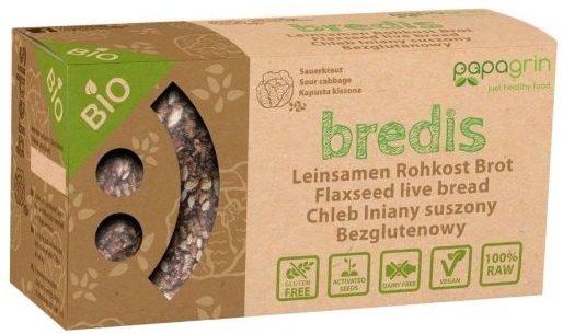 Papagrin, Chleb ekologiczny bezglutenowy Bredis z kapustą kiszoną, copyright Olga Kublik