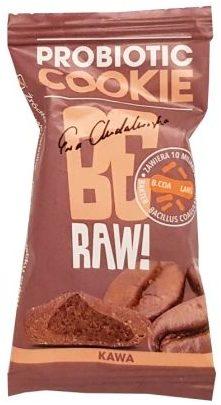 Purella Food, Ewa Chodakowska Be Raw Probiotic Cookie kawa, wegańskie ciastko bez cukru, copyright Olga Kublik