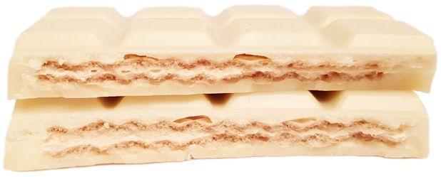 Ritter Sport, Zitronen-Waffel, biała czekolada z waflem cytrynowym, copyright Olga Kublik
