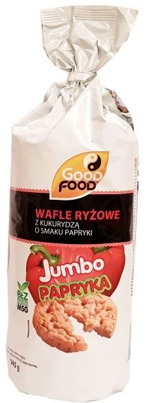 Good Food, Wafle ryżowe Jumbo Papryka, copyright Olga Kublik