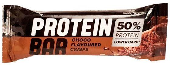 Lidl, Protein Bar Choco Flavoured Crisps 50 bialka, baton proteinowy z Lidla, copyright Olga Kublik