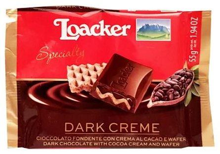 Loacker, czekolada z waflem Specialty Dark Creme 60, copyright Olga Kublik