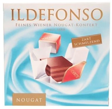 Manner, Ildefonso nougat, wiedeńskie cukierki nugatowe, copyright Olga Kublik