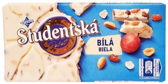 Nestle, Orion Studentska czekolada biała, copyright Olga Kublik