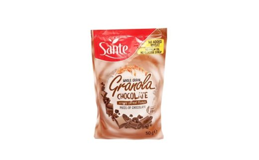 Sante, Whole Grain Granola Chocolate musli z czekoladą, copyright Olga Kublik