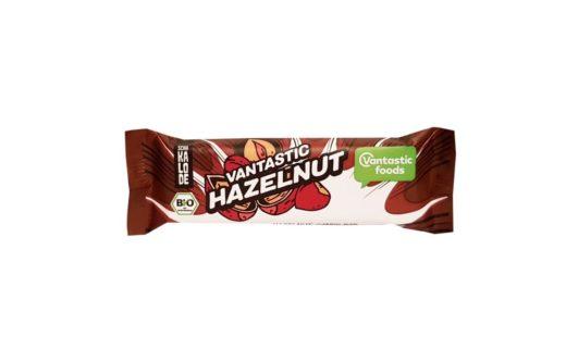 AVE Absolute Vegan Empire, Schakalode Vantastic Hazelnut, ekologiczny baton wegański kakaowy z orzechami laskowymi, copyright Olga Kublik