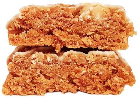 Clif Bar, Energy Bar White Chocolate Macadamia Nut, baton owsiany z białą czekoladą i orzechami makadamia, copyright Olga Kublik