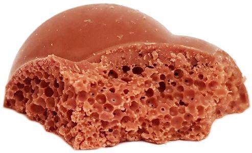 Milka, Bubbly mleczna czekolada aero, czekolada bąbelkowa, copyright Olga Kublik