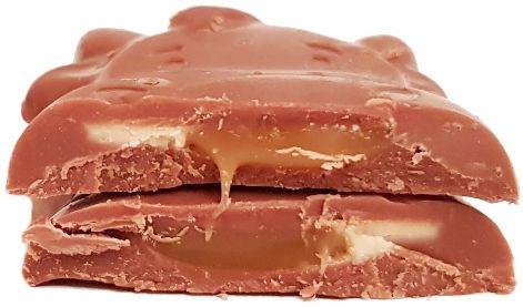 Milka, Moo Caramel Creme, mleczna czekoladka z karmelem i mlecznym kremem karmelowym, copyright Olga Kublik