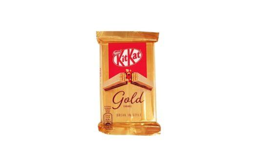 Nestle, Kit Kat Gold Caramel, Kit Kat karmelowy, copyright Olga Kublik