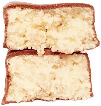 Newtrition, Feel Fit baton Protein 35% Crispy Coconut, kokosowy baton proteinowy w polewie kakaowej, copyright Olga Kublik