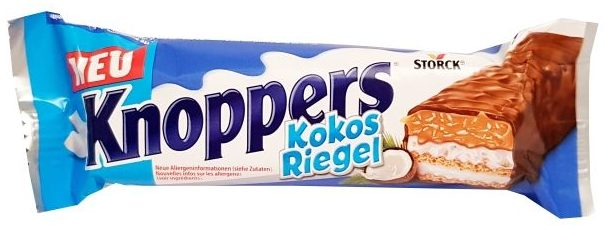 Storck, Knoppers Baton Kokosowy, copyright Olga Kublik