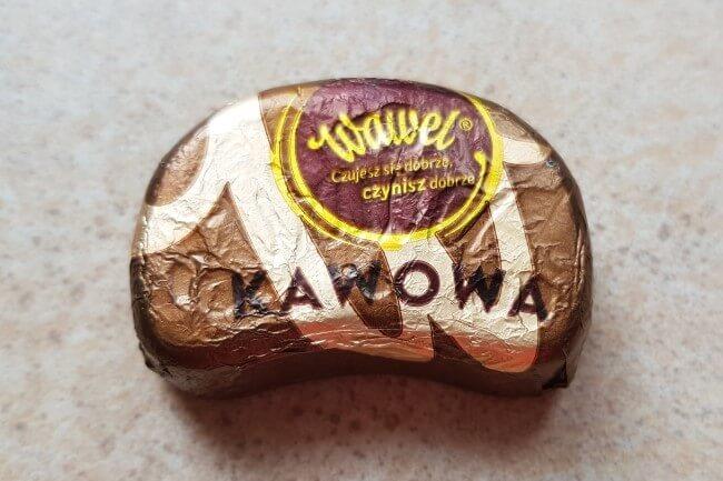 wawel czekoladka kawowa