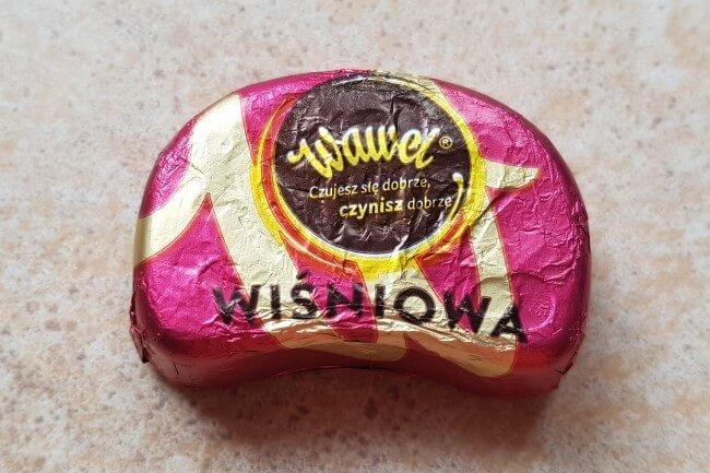 wawel czekoladka wiśniowa