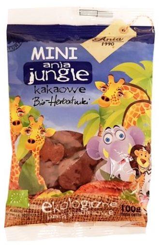 Ania, MINI ania jungle Bio-herbatniki kakaowe, copyright Olga Kublik