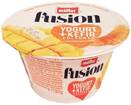 Muller, Fusion Yogurt Kefir Mango-Mandarynka, copyright Olga Kublik