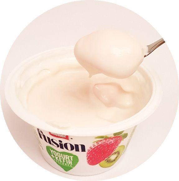 Muller, Fusion Yogurt Kefir Truskawka-Kiwi, copyright Olga Kublik