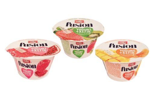 Muller, Fusion Yogurt Kefir, copyright Olga Kublik