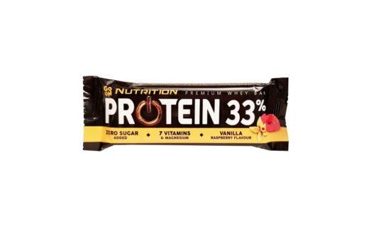 Sante, Go On Nutrition Protein Bar 33 Vanilla Raspberry Flavour, copyright Olga Kublik