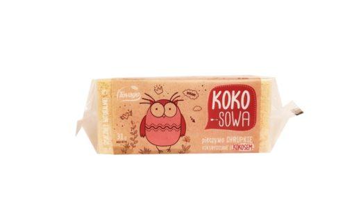 Tovago, Koko-Sowa pieczywo chrupkie kukurydziane z kokosem, copyright Olga Kublik