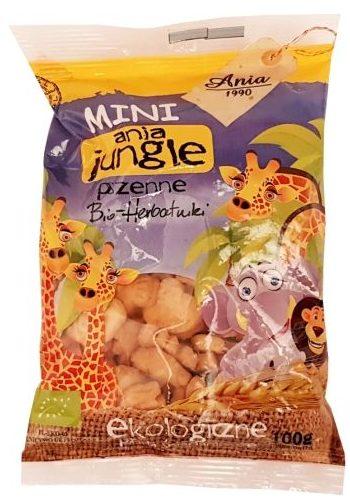 Ania, MINI ania jungle Bio-herbatniki pszenne, ciastka ekologiczne dla dzieci, copyright Olga Kublik