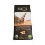Cachet, Bio Organic Dark Chocolate 57 cacao Apricots Hazelnuts, ciemna czekolada ekologiczna z morelą i migdałami, copyright Olga Kublik