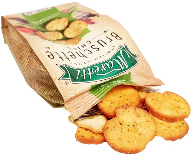 Ital Food, Maretti Bruschette Chips Mediterranean Vegetables, copyright Olga Kublik