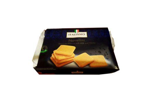 Italiamo, Novellini kruche ciastka z mlekiem i miodem Tydzień Włoski Lidl, copyright Olga Kublik