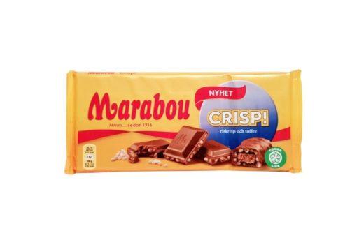 Marabou, Crisp! mleczna czekolada z toffi i chrupkami ryżowymi, copyright Olga Kublik