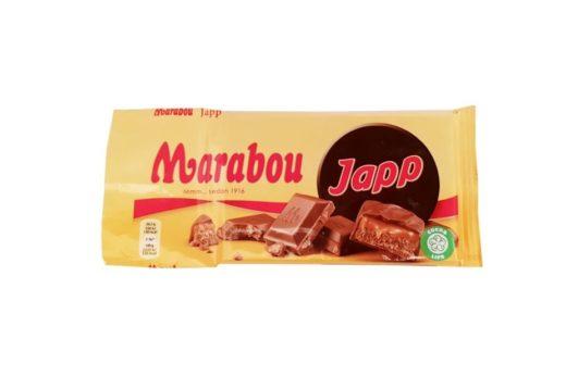 Marabou, Japp mleczna czekolada z karmelem, copyright Olga Kublik