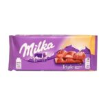 Milka, Triple Caramel Flavor, czekolada karmelowa, copyright Olga Kublik