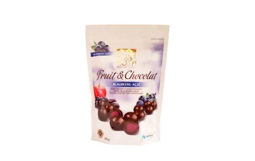 Moser Roth, Fruit & Chocolat Blueberry-Acai,owoce w czekoladzie ciemnej, copyright Olga Kublik