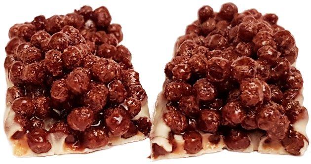 Sante, Flips cocoa baton z płatków śniadaniowych, copyright Olga Kublik