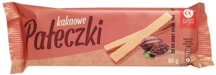 Cukry Nyskie, Wafelki Pałeczki kakaowe, copyright Olga Kublik