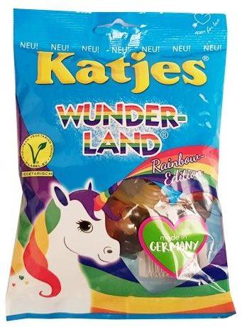 Katjes, Wunderland Rainbow Edition jednorożce żelki wegetariańskie, copyright Olga Kublik