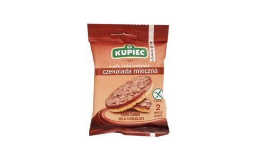 Kupiec, Wafle kukurydziane czekolada mleczna, copyright Olga Kublik