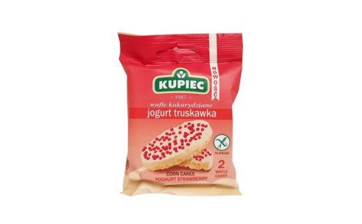 Kupiec, Wafle kukurydziane jogurt truskawka, copyright Olga Kublik
