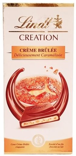 Lindt, CREATION Creme Brulee, copyright Olga Kublik