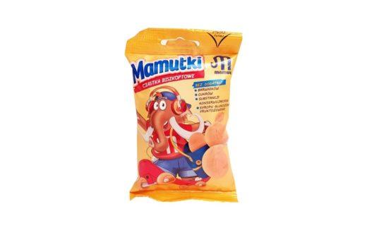 Mamut, Mamutki ciastka biszkoptowe bez cukru, copyright Olga Kublik