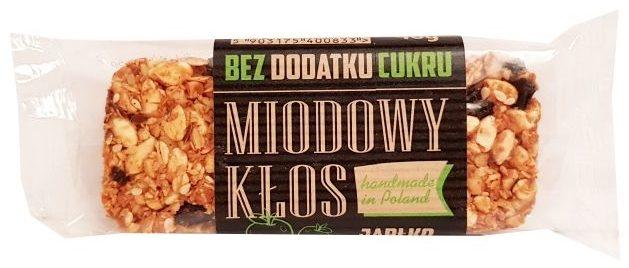 Pasieka Łysoń, Miodowy Klos Jabłko bez dodatku cukru, copyright Olga Kublik