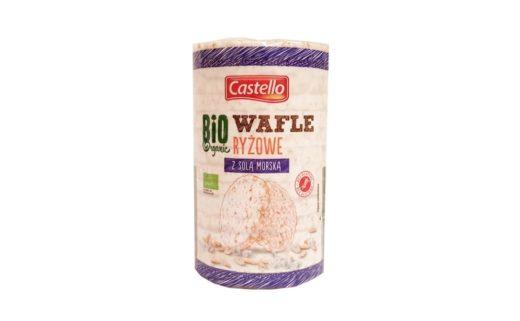 Good Food, Castello Bio Organic Wafle ryżowe z solą morską z Lidla, copyright Olga Kublik