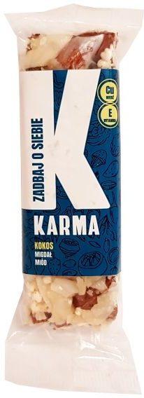 Karma Bars, Karma Kokos Zadbaj o siebie, orzechowy baton kokosowy, copyright Olga Kublik