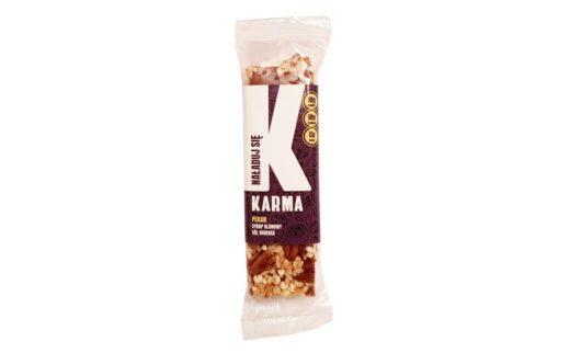 Karma Bars, Karma Pekan Naładuj się, twardy baton orzechowy z pekanami, copyright Olga Kublik