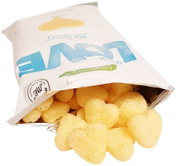 McLloyd's, Organique Organic Love Sea Salt Vegan Chips, ekologiczne chrupki wegańskie z solą, copyright Olga Kublik