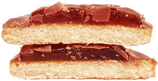 Milka, Choco Jaffa Orange Jelly, biszkopty z galaretką w czekoladzie mlecznej, ciastka z galaretką pomarańczową, copyright Olga Kublik