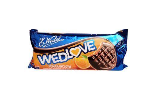 Wedel, Wedlove pomarańczowe, biszkopty z galaretką w czekoladzie ciemnej, copyright Olga Kublik