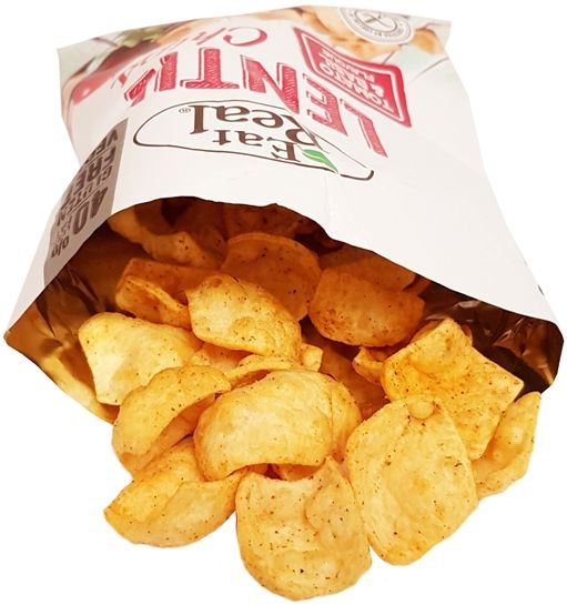 Eat Real, Lentil Chips Tomato & Basil Flavour wegańskie chrupki z soczewicy, copyright Olga Kublik