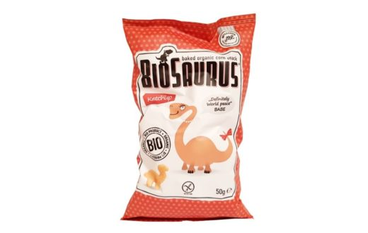 McLloyd's, BioSaurus Ketchup ekologiczne chrupki kukurydziane ketchupowe, copyright Olga Kublik